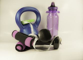 Fitness Gear used for personal training.