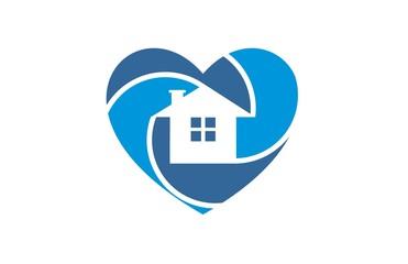 dream house photography icon logo vector