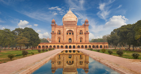 Photo sur Aluminium Delhi Humayun Tomb New Delhi, India.