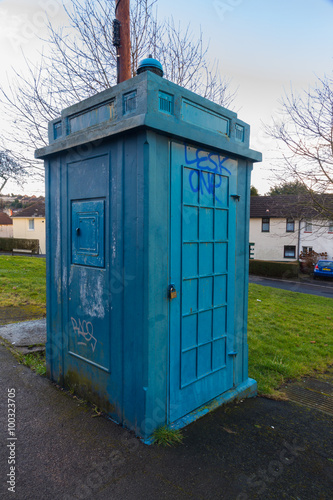 Police Public Call Box, nicknamed The Newport Tardis
