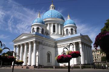 Dreifaltigkeitskathedrale / Troitski-Kathedrale in Sankt Petersburg, Russland