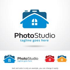Photo Studio Logo Template Design Vector
