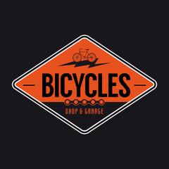 fahrrad zeichen symbol vektor
