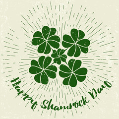 Saint Patricks Day design elements