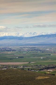 Overlooking Yakima Washington