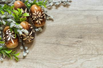 Obraz Wielkanoc, Wielkanocna dekoracja - fototapety do salonu
