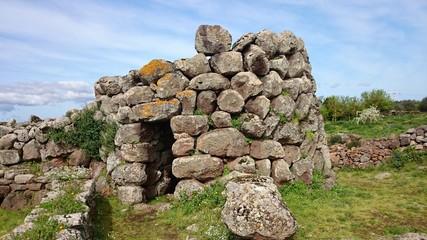 Nuraghe Losa in Sardinia