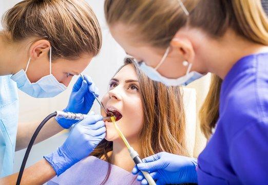 Dental filling procedure