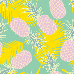 Abstract seamless pineapple pattern