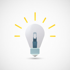 Image light bulb as a generator of new ideas