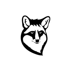 Logo with head of a fox