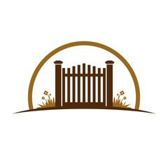 Garden Old Gate