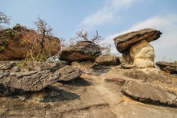 Phu Pha Thoep national park, Mukdahan, Thailand