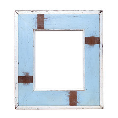 vintage pastel wooden frame