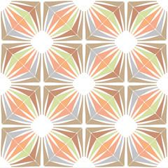 Retro wallpaper - Vintage vector pattern