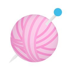 Ball of thread isometric 3d icon