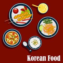 Korean cuisine food and beverages