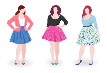 Plus size fashion women