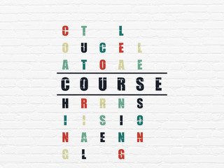 Learning concept: Course in Crossword Puzzle