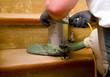Holztreppe abschleifen