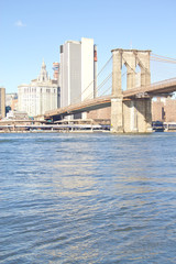 Brooklyn Bridge at New York