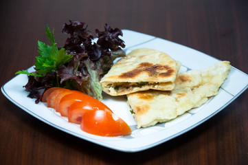 A cheese pie exquisite cuisine from Turkey