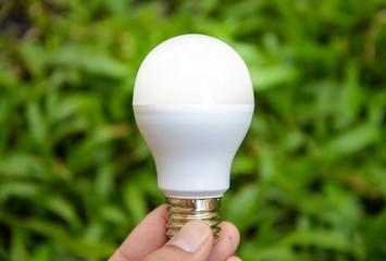 LED Bulb with lighting - Saving Technology