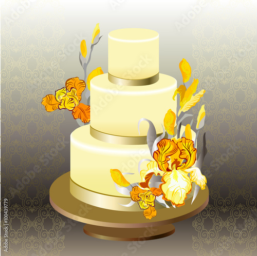 Wedding Cake Design Free Download :
