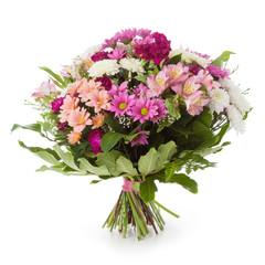 Bouquet made of Chrysanthemum flowers