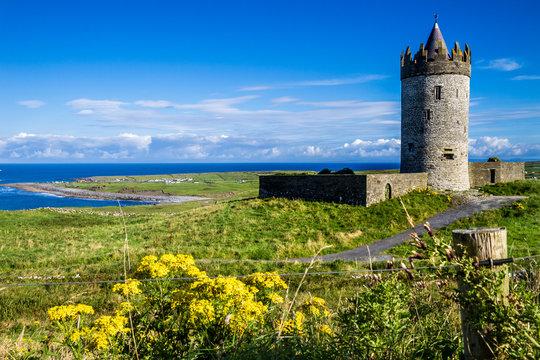 Doolin castle, Ireland