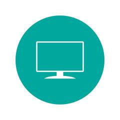 Vector monitor icon