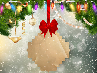 Jingle bells background. EPS 10