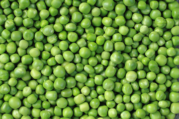 green pea background