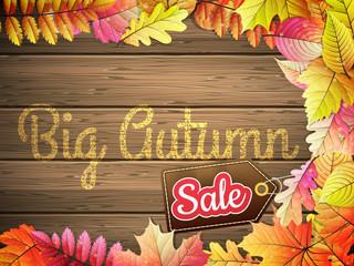 Autumn Big Sale. EPS 10