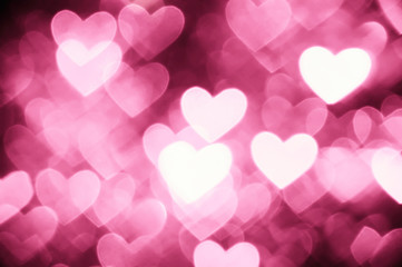 heart background photo light pink color
