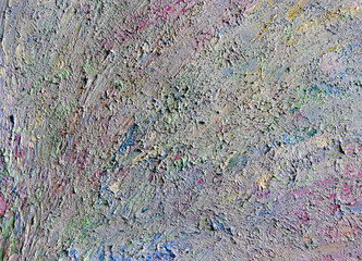 Background image of pastel palette of oil paints