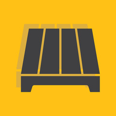 Pallet icon for web and mobile