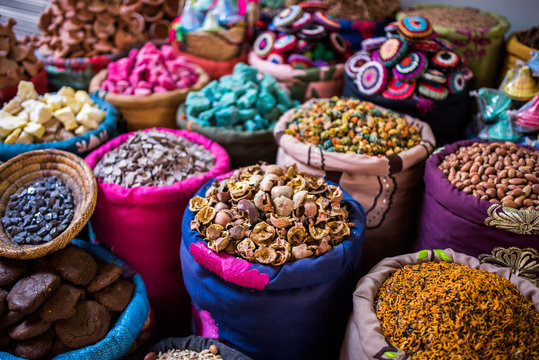 Incense for sale in the souks of Marrakesh