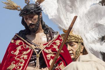 Hermandad de San Esteban, Semana santa en Sevilla