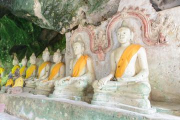 Surat Thani, Thailand - AUGUST 21, 2015: Wat Tham Kuha(Khooha) i