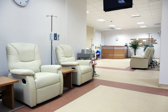 Cancer treatment chemotherapy room