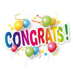 Congrats / Congratulations