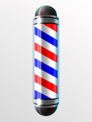 vector illustration Barber Poles, barber shop