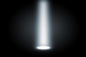 cold white theatre spotlight