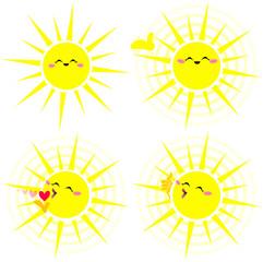 Shining Happy Yellow Sun Pack