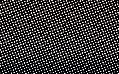 black and white pattern of small circles