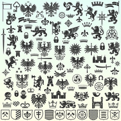 Heraldic Design Elements