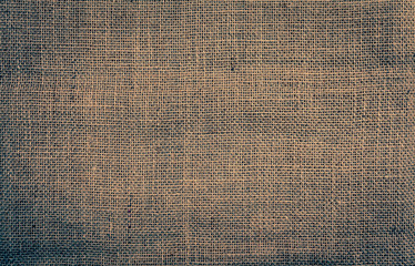 Hessian texture background vintage tone color