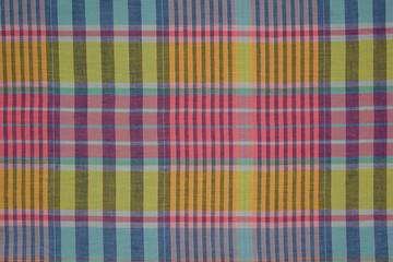 cotton plaid fabric pastel colors