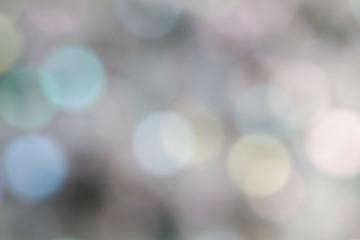 Soft blurred bokeh background